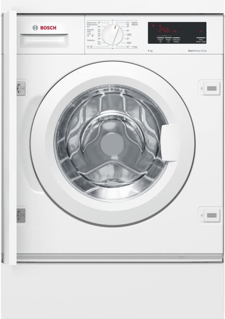 Bosch Serie 6 WIW24300ES integrable: lavadora integrable de carga ...