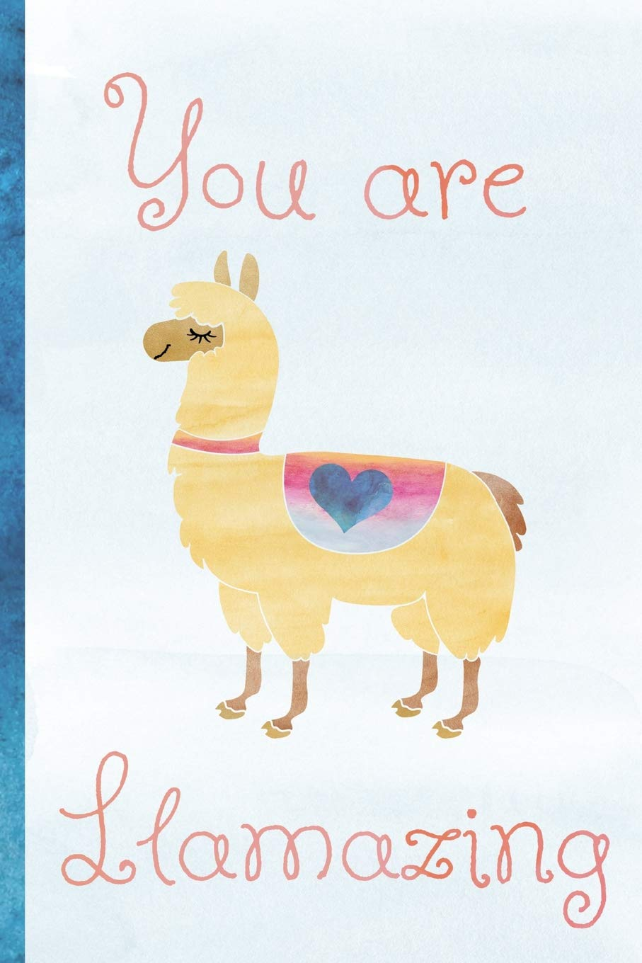 Llama Valentines Card You/'re Llamazing Valentine/'s Card Anniversary