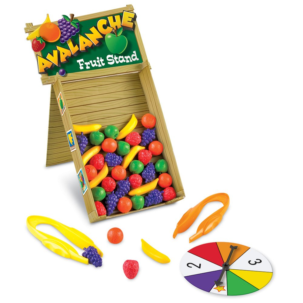 Learning Resources Avalanche Fruit Stand Game LER5070