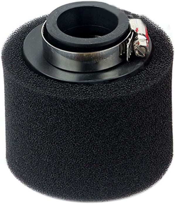 40 mm MCLseller Filtro de Aire de Esponja para Motos Motocross ATV 35 mm//38 mm//40 mm//42 mm//45 mm//48 mm Rosca Universal Limpiador Redondo No Cero Rojo