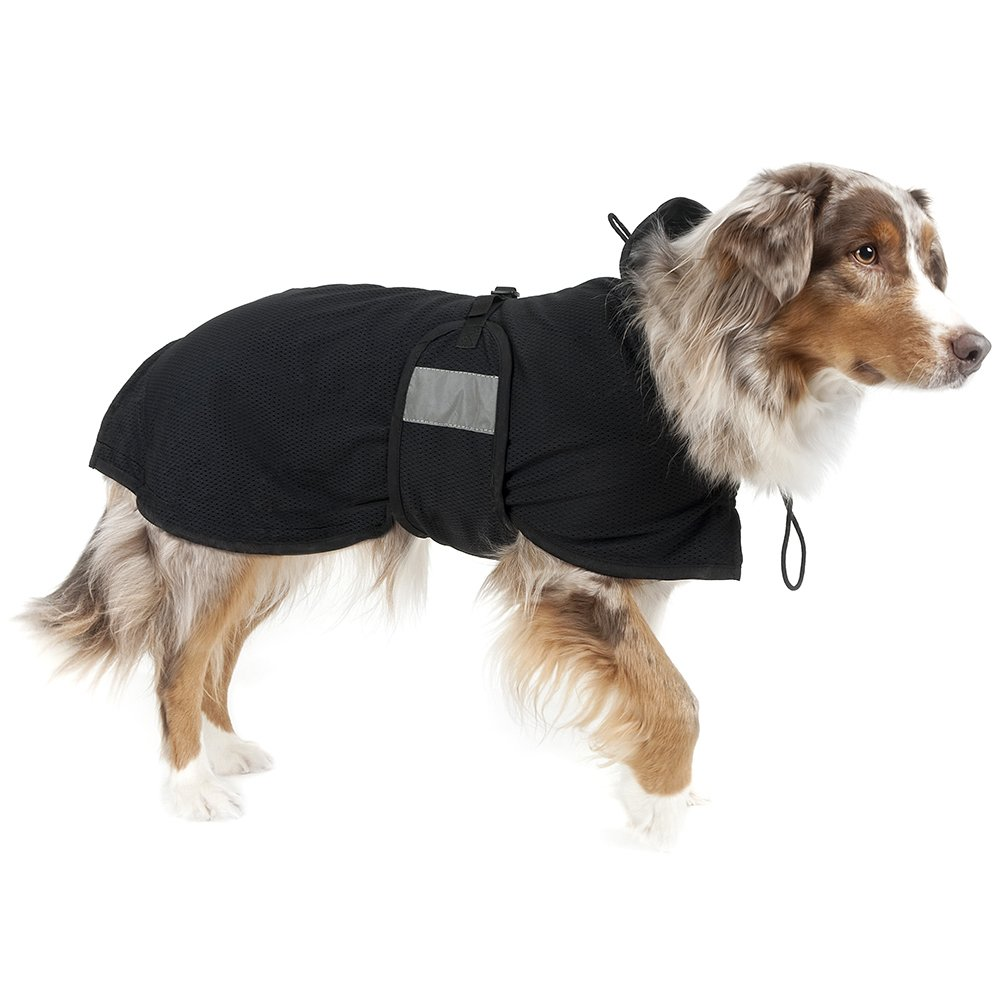 Back On Track Therapeutic Mesh Dog Blanket - Size:28-32'' (78 cm) L Color:Black