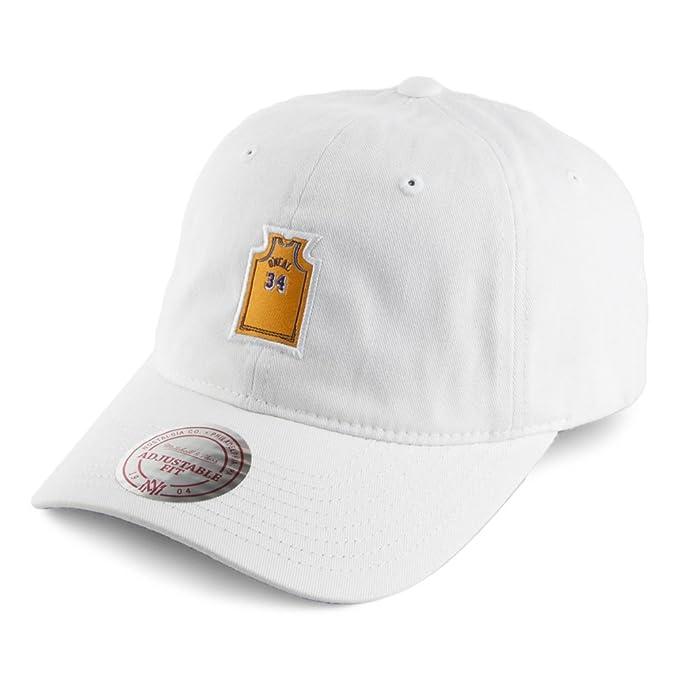 Gorra de béisbol ONeal Jersey L.A. Lakers de Mitchell & Ness - Blanco -