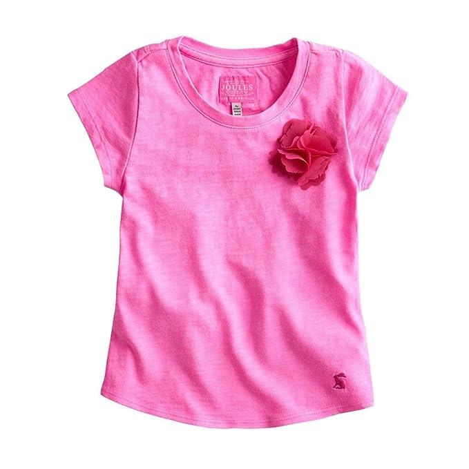 Julios Diseño de chica desnuda en T-Camiseta del equipo de fútbol rosa de rosas