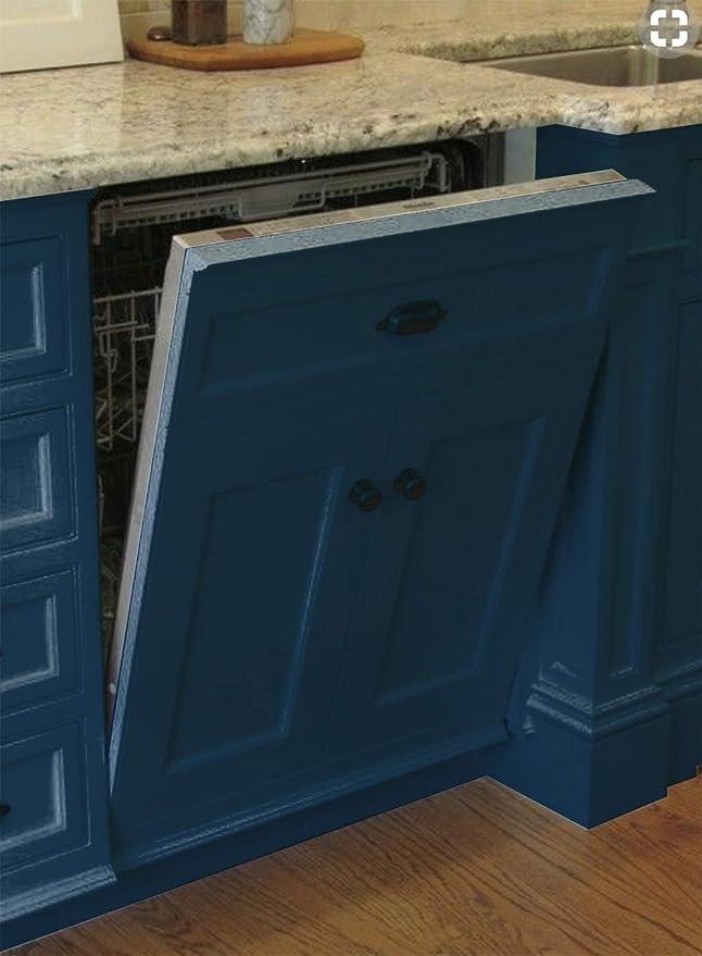 Panel de acero inoxidable para lavaplatos – # 1 cubierta de imán ...
