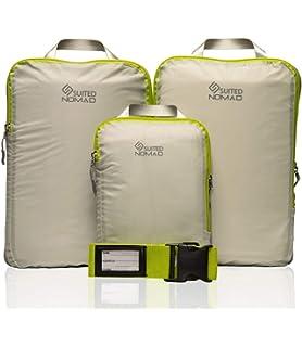 Amazon.com: Organizador de viaje de cubos de embalaje, cubos ...