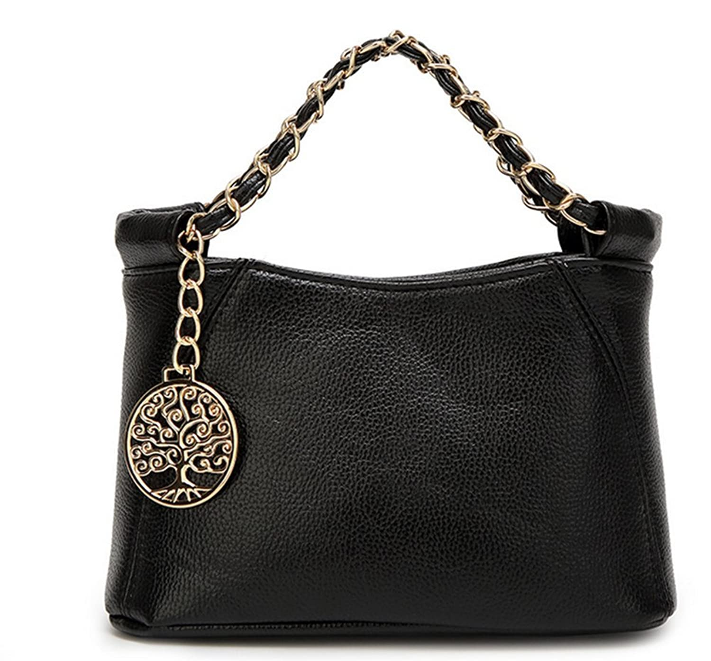ZMSnow Women's PU Leather Handbags Lightweight Tote Casual Work Bag 82648