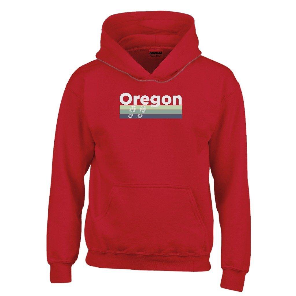 Kids Sweatshirt Oregon Retro Hiking Youth Hoodie