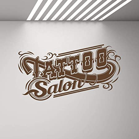 YuanMinglu Tattoo Salon Tatuajes de Pared Tattoo Shop Logo Logo ...