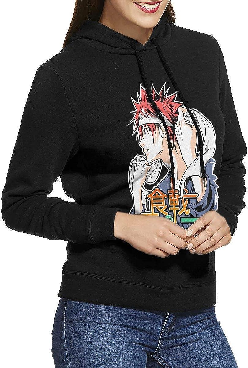 Anime Food Wars Shokugeki No Soma - Yukihira Soma Women's Long Sleeved Pullover Sweatshirts Hoodies