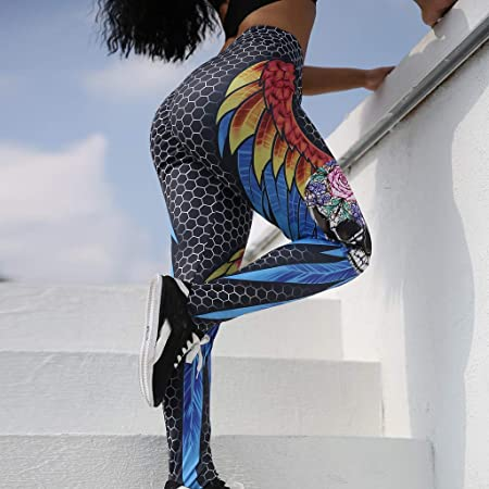 LILICAT✈✈ Leggings Deportivos elásticos y Transpirables para Mujer, Leggings de Fitnes Yoga Deportes de Alta Cintura, Pantalones Deportivos Pantalones de ...