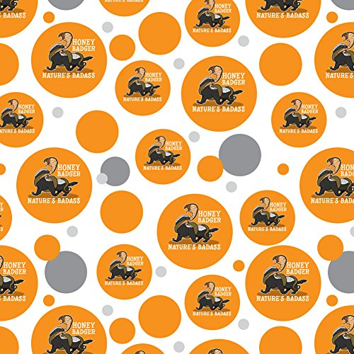 Honey Roll - Honey Badger Nature's Badass Premium Gift Wrap Wrapping Paper Roll