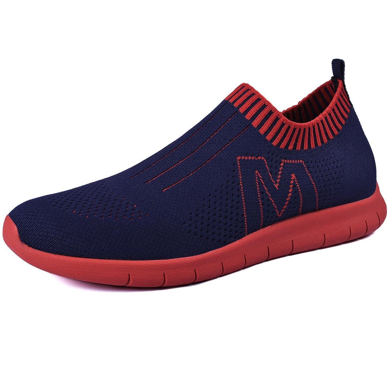 50%OFF QANSI Men's Fashion Flyknit Slip on Sports Sneakers