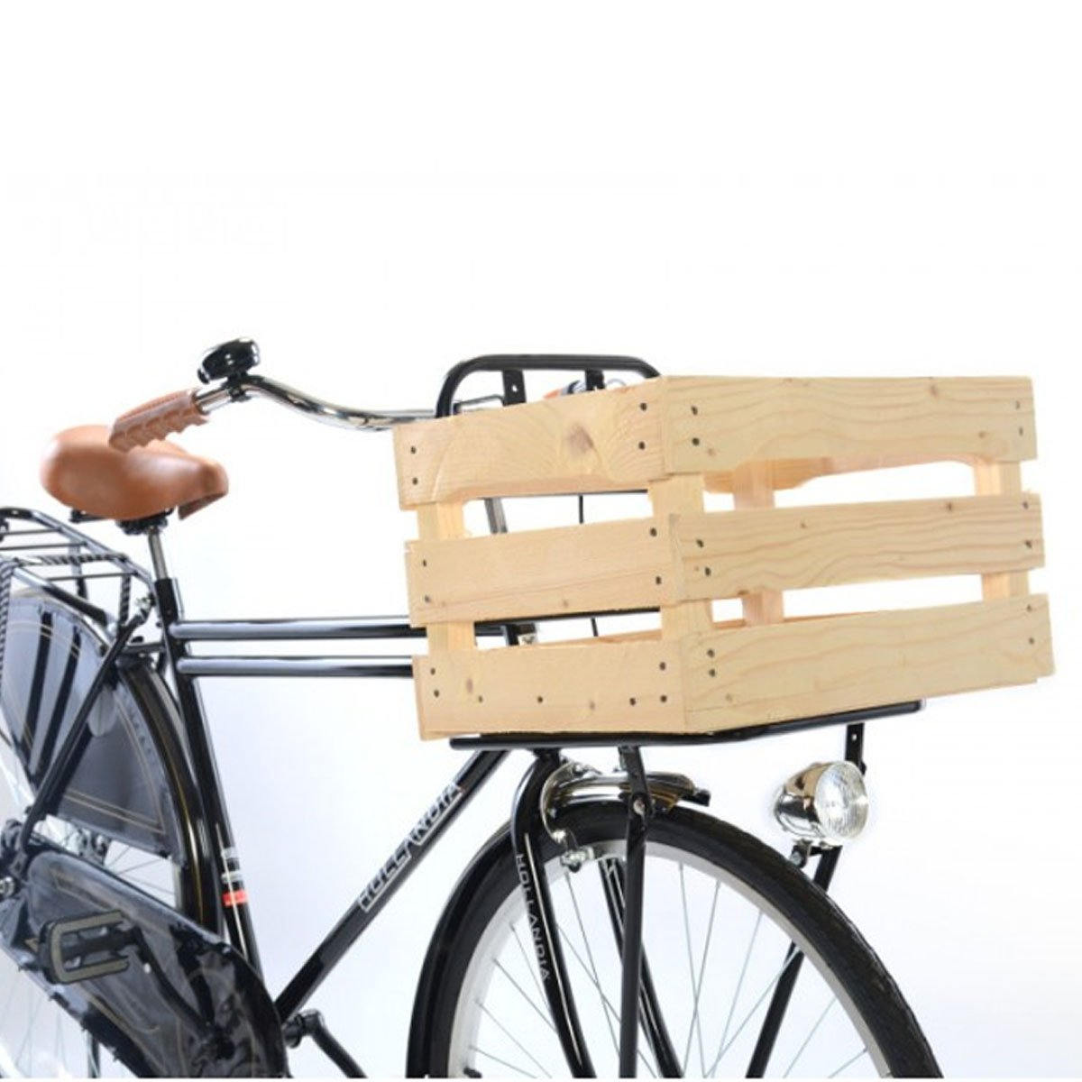 Hollandia Wooden Carrier Box, Natural Wood by Hollandia   B01FWQ9JDA