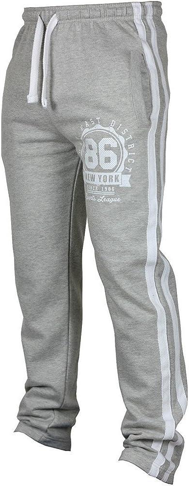 Moda Uomo a righe Tuta Bottom Lacci Sport Pantaloni da jogging Running