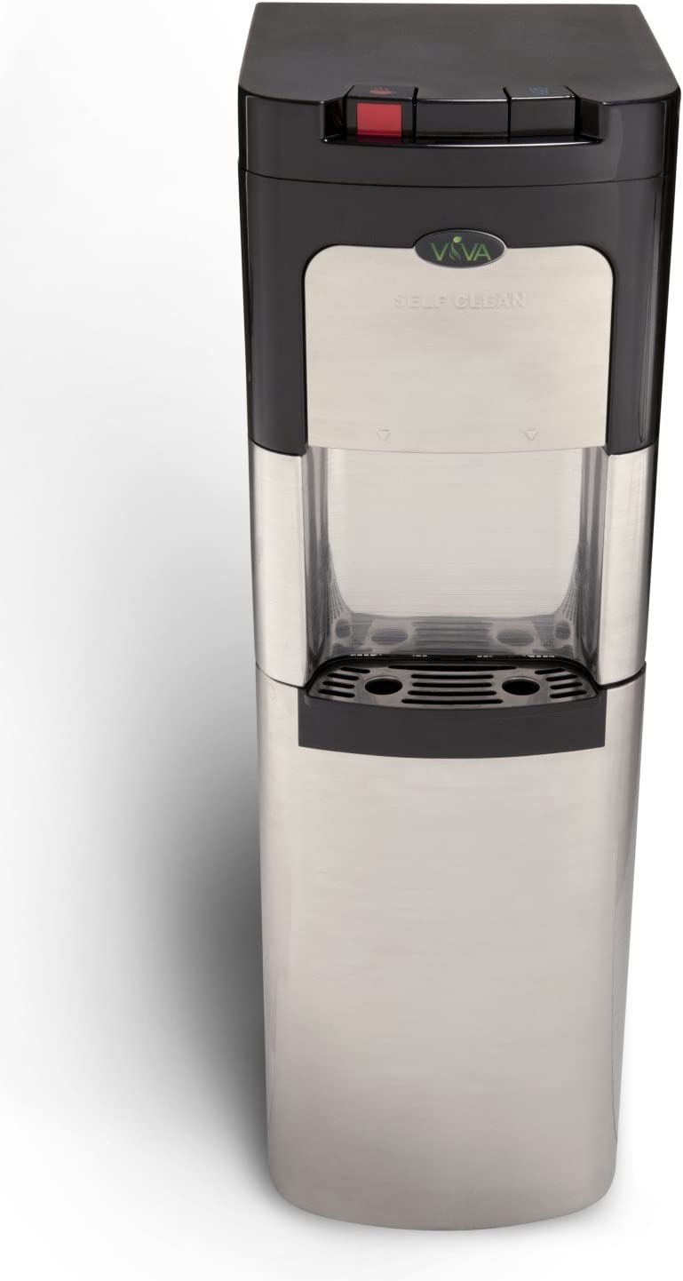 Amazon.com: Viva Self Cleaning Stainless Steel Bottom Loading Water Cooler:  Kitchen & Dining
