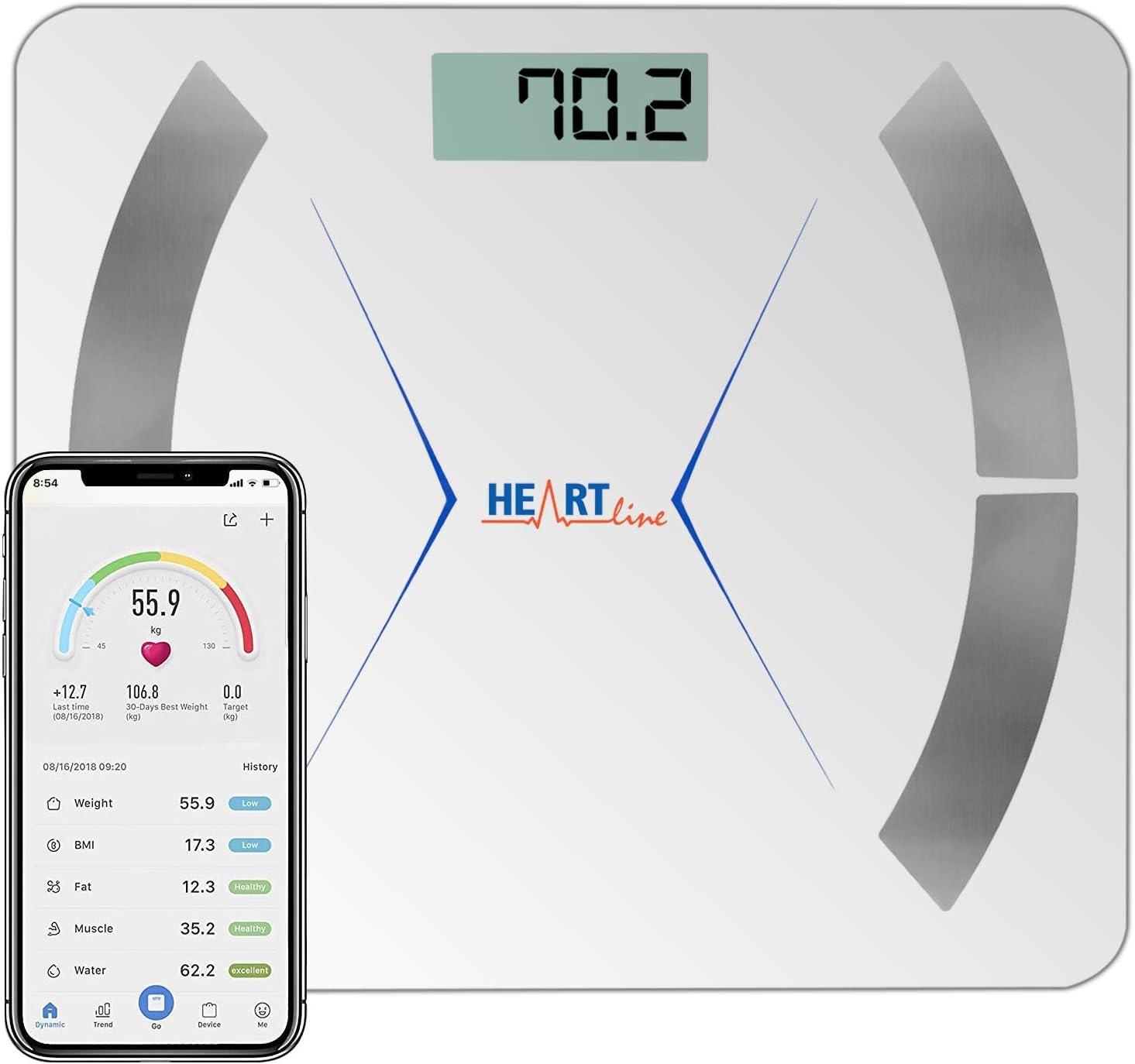 Sharon Bluetooth Body Analyzer Scale Body Analysis Scale Wireless Google Fit App