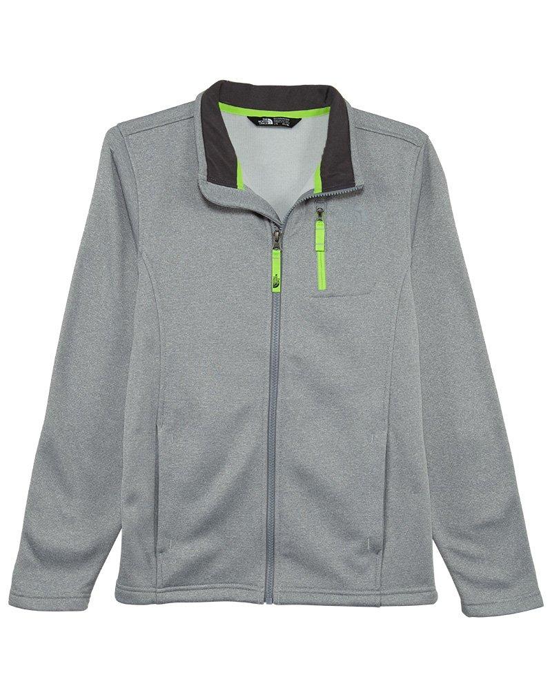 The North Face Kids Boy's Canyonlands Full Zip Jacket (Little Kids/Big Kids) TNF Light Grey Heather (Prior Season) Large