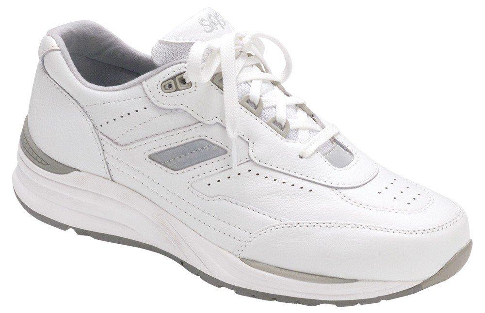 SAS Men's Journey Comfort Walking Sneakers B00W669PMK 8.5 M (M) (D) US|White