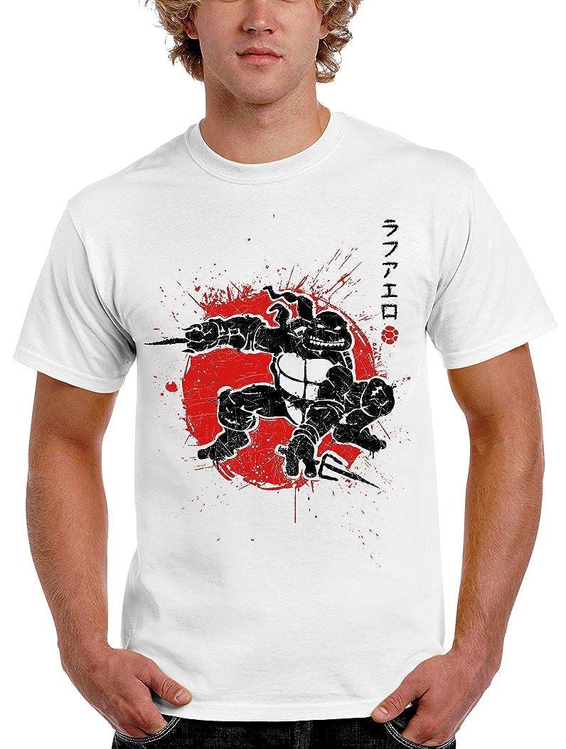 1020-Camiseta Tortugas Ninja - Sai Warrior (Olipop): Amazon ...
