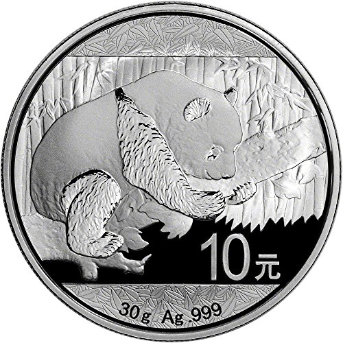 2016 China Silver Panda (30 g) 10 Yuan Brilliant Uncirculated