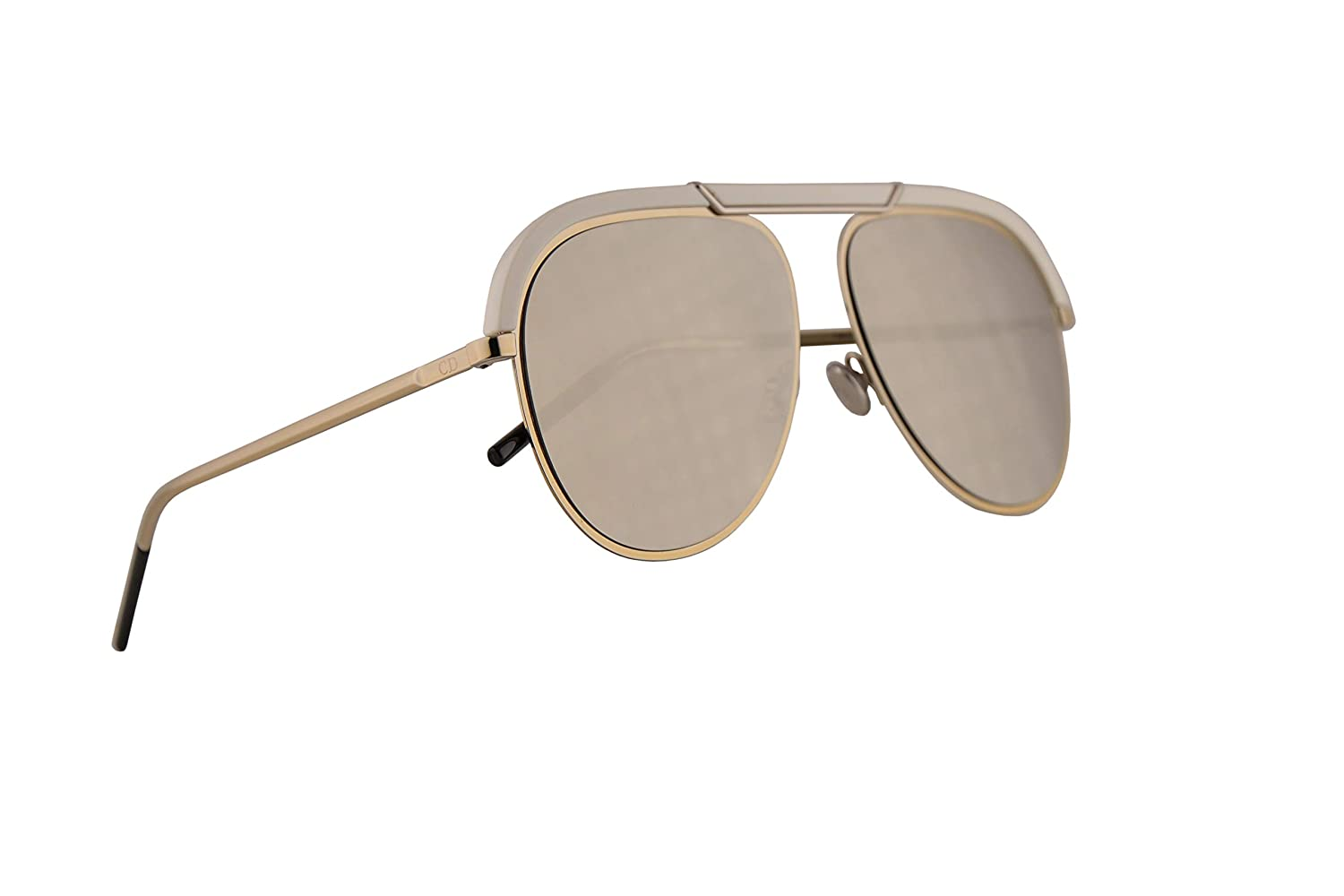 Amazon.com: Christian Dior DiorDesertic Sunglasses Gold ...