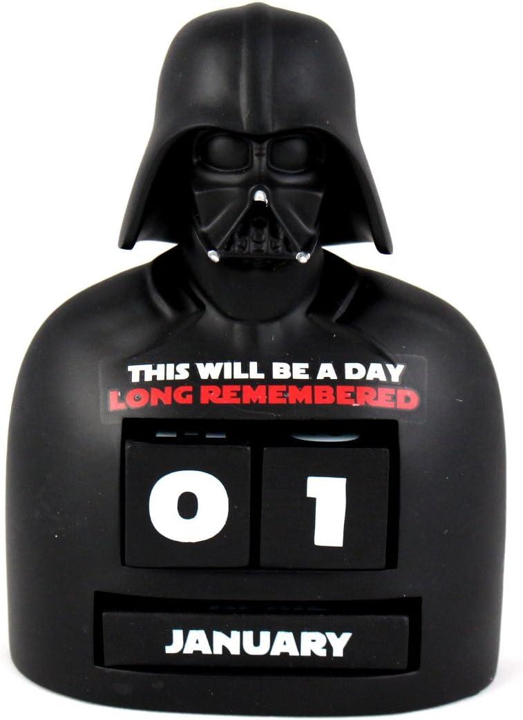 Hallmark SHP2103 Darth Vader Perpetual Calender