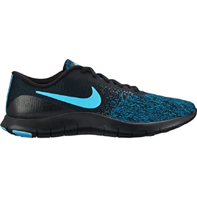 3ccc400ea8ed Image Unavailable. Image not available for. Color  Nike Women s Flex Contact  Running Shoe Black Lagoon Pulse-Green Abyss ...