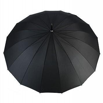 WX Parasol de Agua a Prueba de Viento 16 Hueso Derecho Paraguas Automática Paraguas Barra Gruesa
