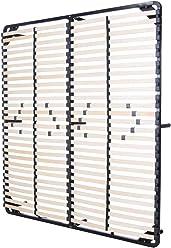 i-flair® Lattenrost 180x200 cm, Gästebett auf Füßen, für alle Matratzen geeignet