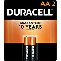 Duracell - CopperTop AAA Alkaline Batteries - long lasting, all-purpose Double A battery for household and business - 2 Count