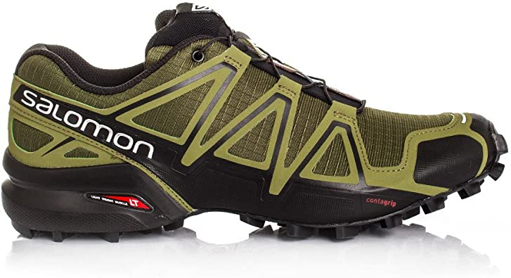 Salomon Speedcross 4 Zapatilla De Correr para Tierra - 49.5: Amazon.es: Zapatos y complementos