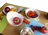 Honla 48 Oz Pasta Salad Bowls,Set of 4,Unbreakable