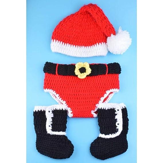 QACFD Sombreros de Navidad Trajes de Punto de Navidad para ...