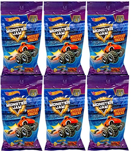 Monster Jam Hot Wheels Mini Minis Truck Mystery Series 4 (6 Packs)