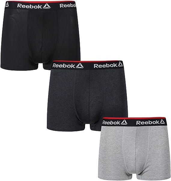 REEBOK 4ER PACK Boxershorts Unterwäsche Unterhose Herren