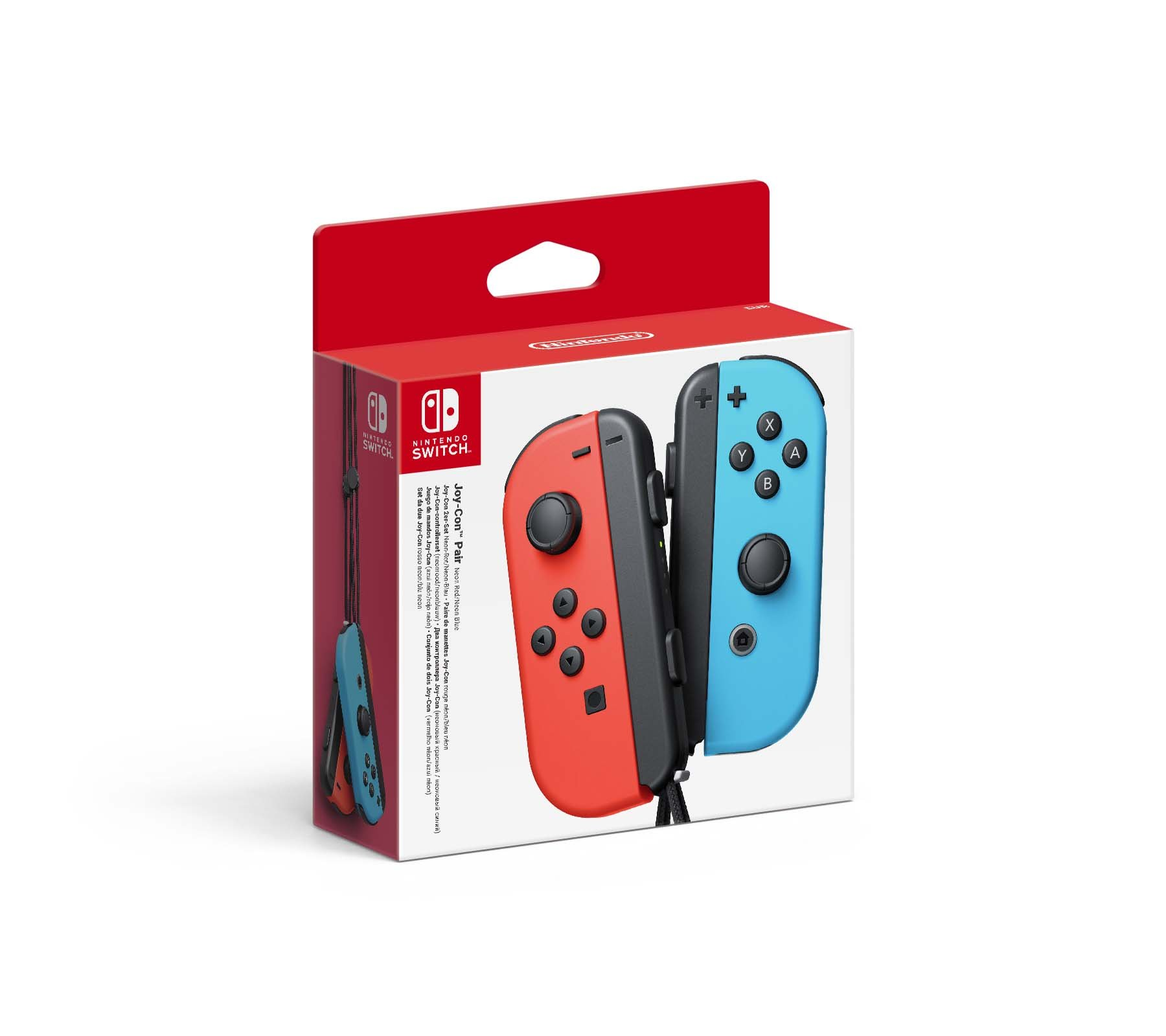 Nintendo Switch Joy-Con Controller Pair - Neon Red/Neon Blue product image