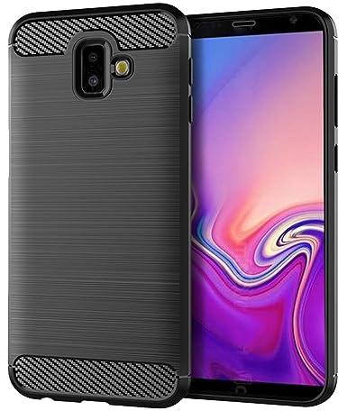Samsung Galaxy J6 Plus Case,Samsung Galaxy J6 Prime Case,Samsung Galaxy J6+ Case, Sucnakp TPU Shock Absorption Technology Raised Bezels Protective ...