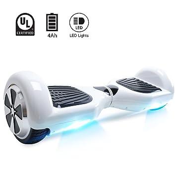 Windgoo Hoverboard 6.5 Pulgadas, Self Balancing Scooter Patinete Eléctrico Scooter con Bluetooth, Motor 350W * 2 con Bluetooth CE Certificado
