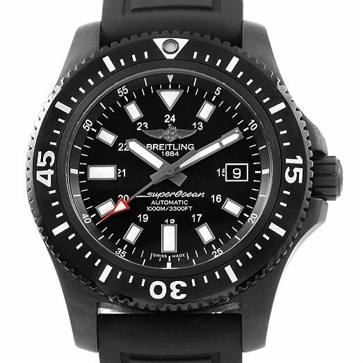 Breitling Superocean automatic-self-wind Mens Reloj m17393 (Certificado) de segunda mano: Breitling: Amazon.es: Relojes