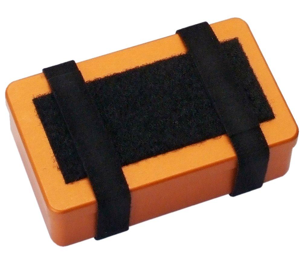SUMA Container, Large - Anodized Aluminum Survival/First Aid Kit Box (Orange)