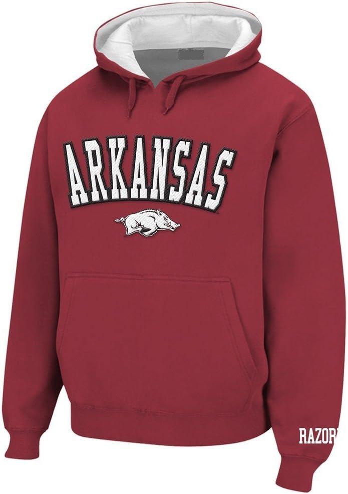 Elite Fan Shop Arkansas Razorbacks Hooded Sweatshirt Team