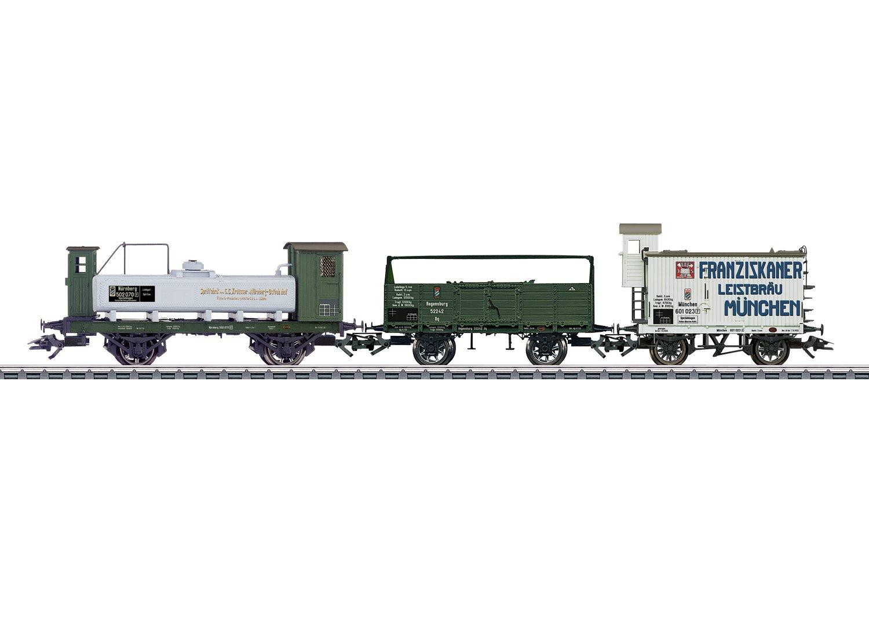 Märklin 46066 Fahrzeug Güterwagen-Set K.Bay.STS.B
