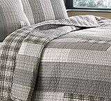 Eddie Bauer Fairview 3-Piece Cotton Reversible Quilt Set, King