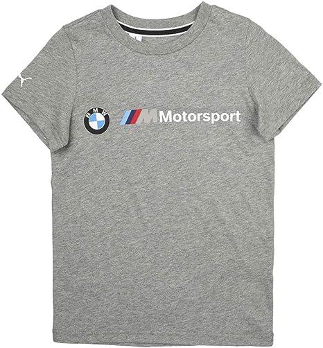 PUMA T-Shirt Junior BMW Motorsport Logo: Amazon.es: Deportes y aire libre