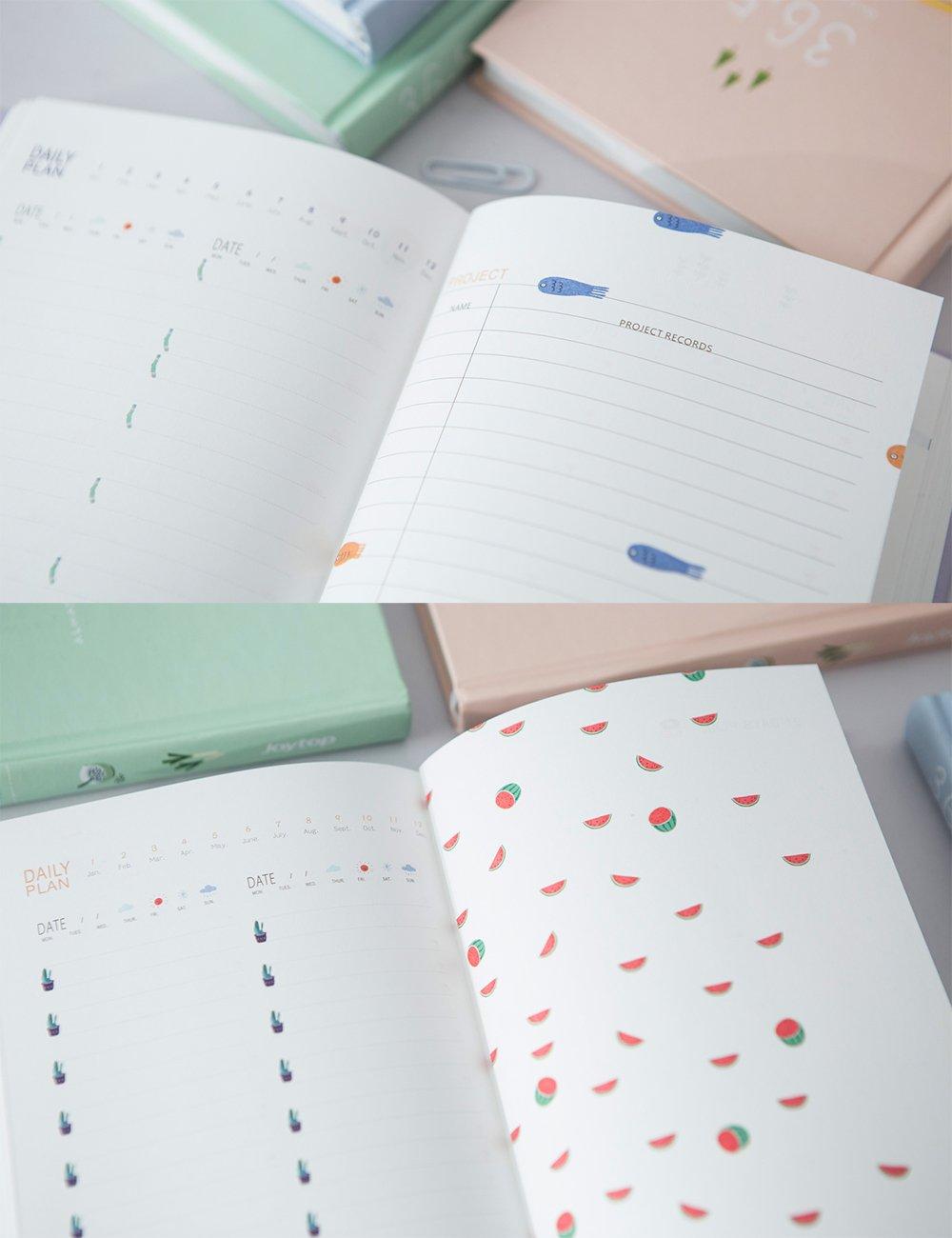 Amazon.com: Planificador de 365 días A5, cuadernos para ...