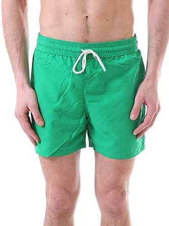 Ralph Lauren Bañador Boxer para Hombres Slim Viajero Corto M Verde ...
