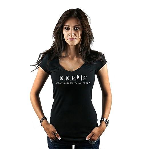 0efdd8255 Women's What Would Harry Potter Do Potterhead Inspired T-Shirt Small Black