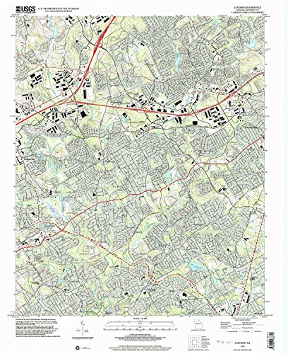 - YellowMaps Luxomni GA topo map, 1:24000 Scale, 7.5 X 7.5 Minute, Historical, 1999, Updated 2003, 26.9 x 22 in - Polypropylene