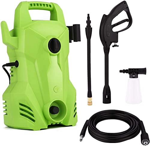 casulo 1400W 105Bar Electric High Pressure Cleaner Household Cleaning Machine, Professional Washer Cleaner Machine