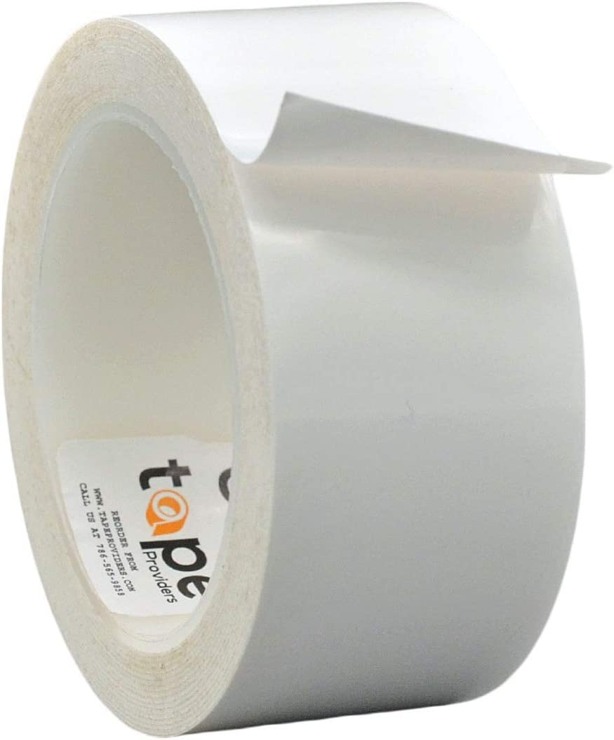 WOD GHT5A Greenhouse Repair Tape, White - 2 inch x 108 ft. Strong Weatherseal Polyethylene Film Tape, Long Term UV Exposure For Sealing & Seaming used in boating and RV industry